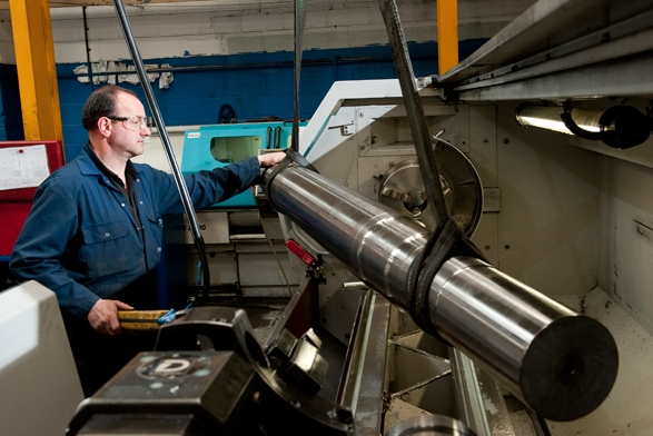 Rotor Shaft on a CNC Lathe